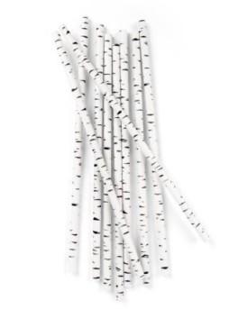 paper straws birch